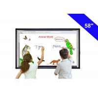 "58"" Digital Touch Screen Interactive Whiteboard In The Classroom USB Cable Power Supply Manufactures"