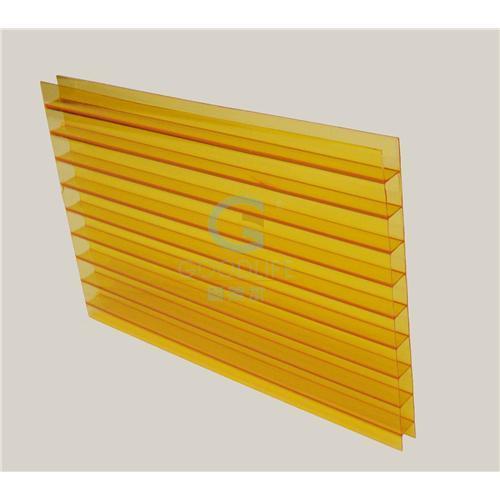 polycarbonate twin wall sheet orange color for sale of. Black Bedroom Furniture Sets. Home Design Ideas