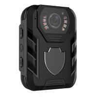 Wireless Police Wearing HD Body Camera Infrared 10 Meter With Face Detect Manufactures