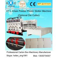 Auto Chrome Carton Making Machine 60pcs/min With Chain Feeding Model For Printing Manufactures