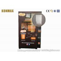 Visible Wifi Control Fresh Squeezed Orange Juice Machine With Coin / Cash Payment Manufactures