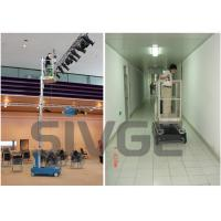 GTWZ6-1006 Hydraulic Lift Ladder Single Mast Mobile Elevating Working Platform Manufactures