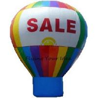 6m Railbow Inflatable Advertising Balloon OEM For Outdoor Show Event Manufactures