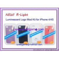 iPhone4S 4G Led Logo mod kit (R-light) iPhone4GS repair parts Manufactures