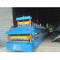 Buy cheap Galvanized Glazed Tile Roll Forming Machine For Roofing Sheet from wholesalers