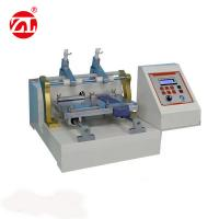 China Friction Color Fastness Leather Testing Machine For Leather Shoes 220V 50hz on sale