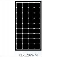 China Roof 120 Watt Mono Crystal Solar Panel , Monocrystalline PV Panels Solar Power on sale