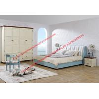 Quality Mediterranean style furniture fabric bed Leisure interior design Residential for sale