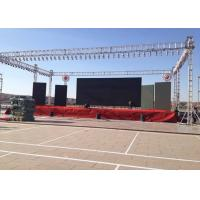 Full Color Outdoor Led Display Screen PH4.81mm For Large Format Video Displays Manufactures