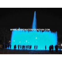 Project Case Floor Fountains Outdoor  DMX 512 Led Light  For Big Square Manufactures