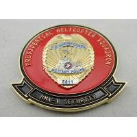 Two Tons Plating 3D Copper / Zinc Alloy / Pewter US Marine Corps Coin for Commemorative, Corps, Club Manufactures