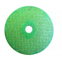 green color T42 cutting disc for stainless steel/ inox Manufactures
