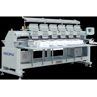 Automatic 6 head tee shirt embroidery machine with laser positioning device Manufactures