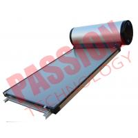 Flat Plate Collector Solar Water Heater / Thermal Hot Water Heater Direct Plug Connection Manufactures