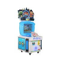 China Lottery Redemption Arcade Rowing Game Machines Hardware , Acrylic Main Materials on sale