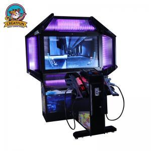 Cool Arcade Game Machine , Virtual Reality Razing Storm Arcade Machine Manufactures