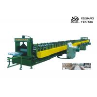 Galvanized Floor Deck Roll Forming Machine With 8 - 10/Min Working Speed Manufactures