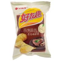 China Back Seal Potato Chips Packaging , Custom Snack Food Packaging Bag on sale