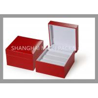 China Girls Mens Flat Rustic Fancy Jewelry Box For Bracelets And Necklaces Chains on sale