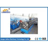 Steel structure 6m to 8m long C purlin roll forming machine / C Z U purlin roll forming machine Manufactures