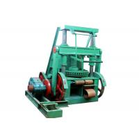 China Charcoal Coal Briquette Making Machine With Square Shape 100 x 100 mm on sale
