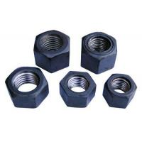 Black High Strength Hex Lock Nut M6 - M64 Size Zinc Plated Surface Treatment Manufactures