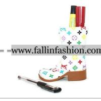 Retail and wholesale LV pen containers,designer pen holders,on www.fallin2fashion.com Manufactures