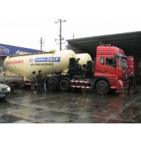 Warning System Bulk Cement Truck 12 Tires With Reflecting Mark Safety Manufactures