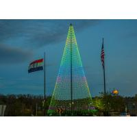 Outdoor LED Christmas Tree Display Outdoor IP65 Waterproof LED Christmas Tree Screen Manufactures