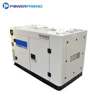 Home use 220V silent and portable diesel generator 12kva Emergency Power Manufactures