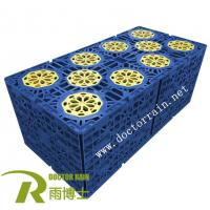 Underground Plastic Rainwater Harvesting Module Tank For Rainwater Harvesting System