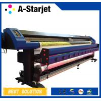 CMYK 3.2m Epson Dx7 Printer Inkjet Wide Format Solvent Printer Manufactures