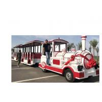 72 Seat Trackless Kiddie Train Mini Electric Train Shopping Mall 1 Year Warranty Manufactures