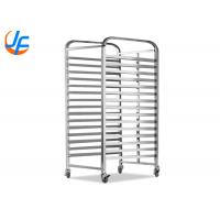 OEM Baking Tray Trolley Utility Food Catering Tray Rack Trolley For Service Equipment Manufactures