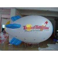 Waterproof Advertising Helium Zeppelin / Blimp Balloon with Logo Printed for Opening event Manufactures