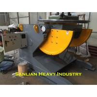 Buy cheap 5T Rotary Pipe Positioner With 2000mm Welding Table VFD Control Rotation Speed from wholesalers