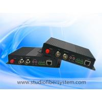 Buy cheap 1Bidirectional 3GSDI&1BIDI analog audio&10/100M Ethernet&RS232/485/422 to fiber media converter from wholesalers