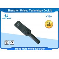 China Airport Handheld Metal Detector Wand 100 Hours Long Standby Time V160 on sale