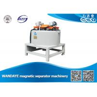 Automatic 3T Dry Magnetic Separator With Water / Oil Double Cooling