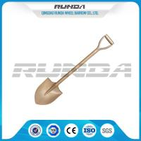 D Type Carbon Steel Spade Shovel S503 Round Nose 1.5kg Power Coated Painting Manufactures