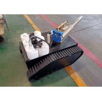 Rubber Track Chassis Undercarriage Robot with 200kg Load Weight for sale