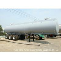 Steel Lined PE Road Chemical Tank Trailers For Transport Bleach , Hydrochloric Acid Manufactures