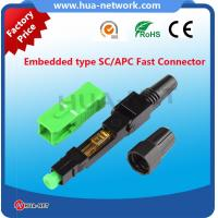 Hot sale FTTH SC Fast Connector IEC61754-4 Manufactures