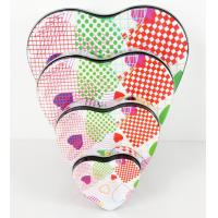 China Metal Heart Tin Boxes on sale