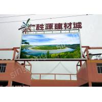 Commercial P10 Led Display , RGB Led Display 1R1G1B SMD3535 Pixel Configuration Manufactures