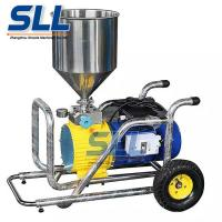 Stainless Portable Wall Coating Mortar Spraying Machine Flow Rate 12L/Min Manufactures