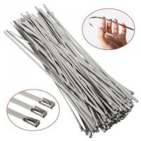 China Corrosion Resistant Stainless Steel Tie Wraps , Ss Zip Ties Not Flammable on sale