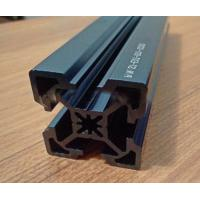 Laser engraving on anodized aluminum, Super high precision blue anodized extruded aluminum profile Manufactures