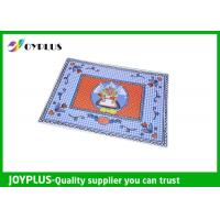 Anti Slip Dining Table Placemats Washable Placemats Vinyl For Home / Hotel Manufactures