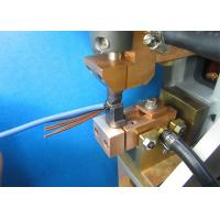 Electric Motor Stator Lead Wire Tube Automatic Fusing Machine ISO / SGS  Audit Manufactures